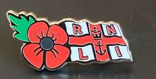 RNLI Remembrance Lest We Forget Souvenir Enamel Pin Badge 15% Donated to RNLI