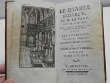 LE SAGE LE DIABLE BOITEUX 2 1789 gravures