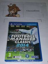 Football Manager Classic 2014 (Sony PlayStation Vita, 2014)