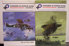 CROSS & COCKADE, WWI Aviation Journal 2006 v 37, No. 1 & 2 Buddecks, Airships NM
