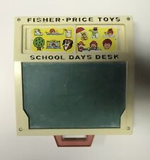 Fisher Price Toys School Days Desk 1972