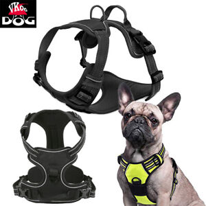 Reflective No Pulling Dog Harness and Handle Padded Front Control Pet Easy Vest