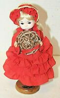 Bradley Dolls Vintage 1985 Miss Ruby July Collectors Choice Doll Signed