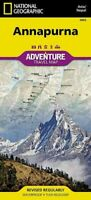 National Geographic Adventure Map Annapurna : Nepal, Paperback by National Ge...
