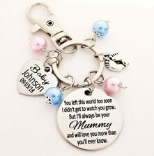 Mummy of an angel Custom Keyring loss of baby infant loss miscarriage stillborn