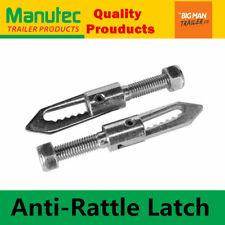 2x Manutec Anti Rattle Latch Gravity Luce Drop Lock Fastener