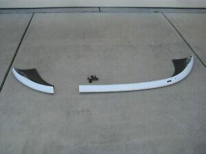 96-02 1996-2002 BMW z3 e36/7 AC SCHNITZER white Rear Lip Spoiler bumper rare