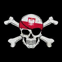 Aufkleber Polen, Polska, Poland, Pologne Vinyl Sticker 65mm x 45mm