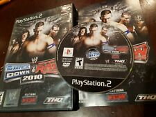WWE SmackDown vs. Raw 2010 (PlayStation 2, PS2) complete