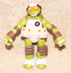 TMNT Ninja Turtles Dimension X Michelangelo Space 2013 Weird Variant White Belt