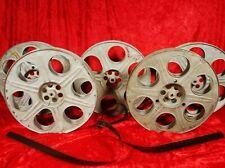 Vintage 35Mm 2000 Ft. 14.5 Inch Metal Movie Theater Film Reel * Made In U.S.A.