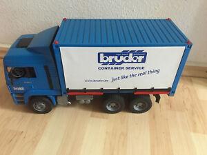 große LKW Container Lastwagen von Buder TG 410   52x26x17,5 cm