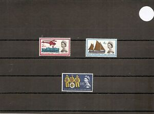 Great Britain 1963 SG639-41 3v MM Lifeboat Conference-Sea Rescue/Lifeboatmen
