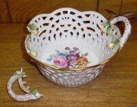 Antique KPM Royal Porcelain Factory Germany Bowl - Handle Broken Off