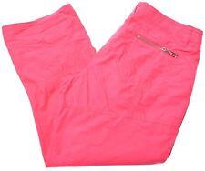 DIADORA Womens Cargo Shorts UK 16 Large Pink Cotton  A208