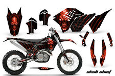 KTM GRAPHICS KIT SX SXF 07-10, EXC XCF 08-10-11, XCW 08-10-11 DECALS SCRNP