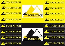 Touratech Case Box Fork Decals Stickers Graphic Set Vinyl Adhesive 18 Pcs
