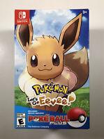 Pokémon: Let's Go, Eevee! Poke Ball Plus Bundle (Nintendo Switch) with MEW