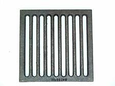 CHM GmbH® Ofenrost 22x22 cm Gusseisen Gussrost Kaminrost eckig Ascherost