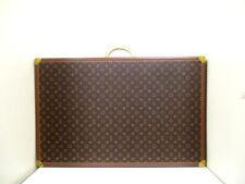 Authentic LOUIS VUITTON Monogram Alzer80 M21222 Luggage Bag w/ Name Tag / Cover