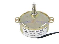 Dauermagnet tyc-50 Synchronmotor ausgerichtet DC 12v 30-36rpm CW/CCW 4w