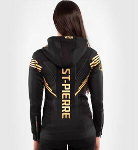 UFC VENUM gold Georges St‑Pierre Women's hoodie walkout hoodie