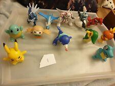 Collecton Of Mcdonalds Pokemon Toys 12 figures lot 1