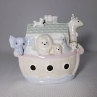 Vintage 1992 Enesco Precious Moments Noah's Ark Nite Night Light Figure
