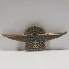 Pan Am Junior Flyer plastic badge