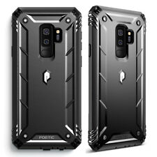 For Samsung Galaxy S9 Plus Case [360° Protective] Premium Shockproof Cover BLK