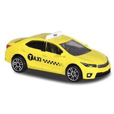 "Toyota Corolla Altis Yellow Taxi Majorette City 292J 2019 1:64 3"" inch Toy Car"