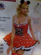 Sexy Music Legs Cuti Minnie Mouse  Halloween Costume