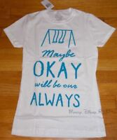 New The Fault In Our Stars Girls Top T-Shirt Girls Maybe Okay Will Be Our Always