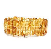 Baltischer Bernstein Armband Poliert Honig 26 g Baltic Amber Bracelet