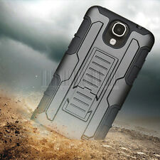 Rugged Armor Hybrid Hard Case Protective Cover For Samsung Galaxy Mega 2 G750