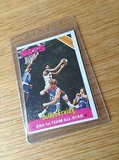 Julius Erving Vintage baloncesto de la NBA Trading Card