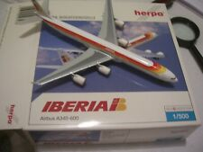 Iberia Airbus A-340-600 EC-INO Herpa Wings 1:500  No.507479