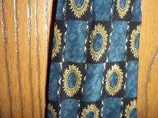 Metropolitan Museum of Art Blue Sunflowers Necktie Tie