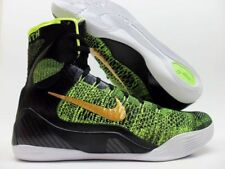 check out 7018a 41a57 Nike Kobe IX Elite Negro Volt-Antracita-ORO