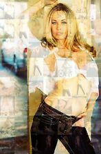 ANITA BLOND photo mosaic cm. 30x41 poster with hundreds of pics of ANITA