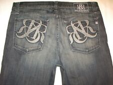 Rock & Republic Mens Jeans Henlee Relaxed Man Crop Shorts w Stretch Sz 40 X 24