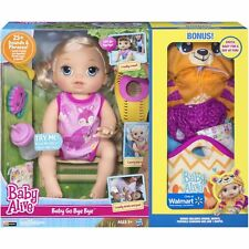 New Baby Alive Baby Go Bye Bye Blonde Doll Girls Bonus Clothes Walmart Exclusive
