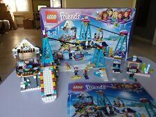Lego Friends 41324 La Station de Ski , en très bon état comme neuf