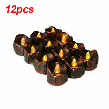 12pcs Flameless LED Candle Flickering Tea Light Battery Birthday Wedding Candles