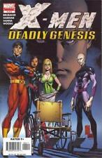 X-Men Deadly Genesis #4 (NM)`06 Brubaker/ Hairsine