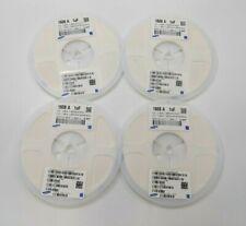 Lot of 4 Open Box, Samsung Cl10A105Kp8Nnnc Ceramic Capacitors (4,000pcs) Sb2817