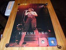 Vintage Linda Ronstadt Greatest Hits Volume 2 Promo Poster 27 X 39 RARE 1980