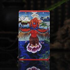 Tibet Tibetan Buddhism  Exquisite painting Amulet thangka Garuda