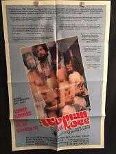 Woman In Love One Sheet Movie Poster Adult XXX Porno Sex Vanessa Del Rio