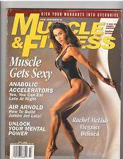 MUSCLE & FITNESS bodybuilding magazine Rachel McLish 2x Ms Olympia 7-95